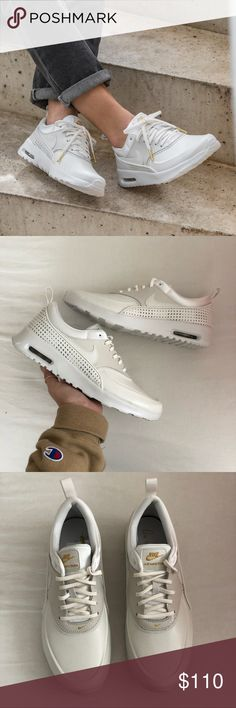 Women's Nike Air Max Thea SE Prm Brand new with the box but no lid  Comes in a Nike HQ Sample Box  Leather Material Nike Shoes Athletic Shoes