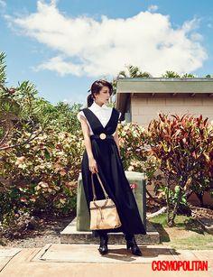 Ha Ji Won is a Picturesque Beauty in Hawaii for 'Cosmopolitan'! | Koogle TV