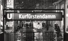Berlin Street Photography by Maxim G Photography Metro Subway, Berlin Street, Night Rain, Dream Night, Germany Photography, Dancing In The Rain, Berlin Germany, Street Photography, Shops