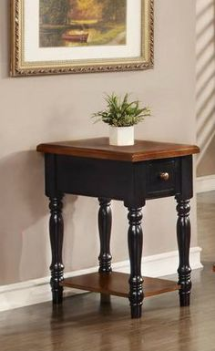 Country Marketplace - Danielson Narrow End Table, $249.00 (http://www.countrymarketplaces.com/danielson-narrow-end-table/)