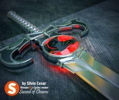 Sword of Omens by SilvioCear Thundercats!! Hoooooooooooo!!! Blender 3D the best for me!