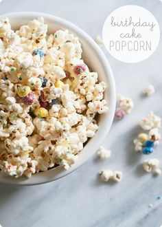 You Say It's Your Birthday...popcorn.