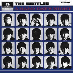 Paul McCartney, John Lennon, George Harrison, Ringo Starr, and The Beatles in A Hard Day's Night Beatles Album Covers, Music Albums, Ringo Starr, The Smashing Pumpkins, John Lennon, Pink Floyd, George Harrison, Paul Mccartney, Vinyls
