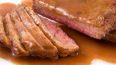 Omáčka k masu Roast Recipes, Sauce Recipes, Crockpot Recipes, Yummy Recipes, Healthy Recipes, Cube Steak And Gravy, Sauce Au Poivre, London Broil, Fat Burning Foods