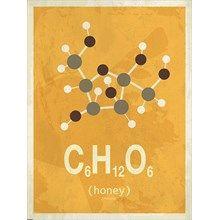 Molekyle Honning 50x70 fra Incado