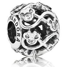 Disney Pandora Charm - Minnie and Mickey Infinity