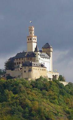 Marksburg castle, Rhineland-Palatinate, Germany