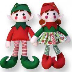 Christmas elves sewing pattern