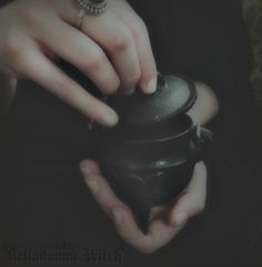 Black Cauldron ~ magic divinations, spells and potions Witch Pictures, Witch Cottage, The Black Cauldron, Tarot, Magic Hour, Season Of The Witch, Harry Potter Aesthetic, Practical Magic, Book Of Shadows