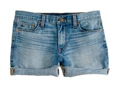 Credits: Courtesy of J.Crew J.Crew Denim Shorts in Patina Wash  Available at jcrew.com, $79.50.