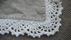 Free patterns for 3 pretty crochet edgings ✿Teresa Restegui http://www.pinterest.com/teretegui/✿