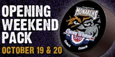 Be among the first to secure your Opening Weekend seats through the Monarchs Opening Weekend Pack! Get two great seats for either the Opening Night game or Opening Saturday game as the Monarchs drop the puck on our 12th Season in Manchester.