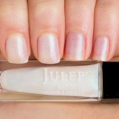 Julep BJORK Nail Color Treat Polish It Girl Special Effect Blue Pearlescent Silk #Julep