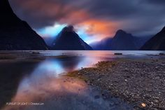 """Shadowland"" by Christian Lim. Fjordland National Park, Milford Sound, New Zealand - South Island. 2011"
