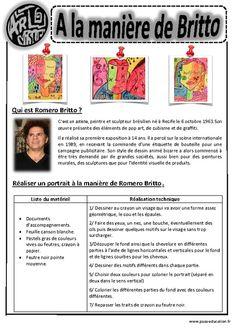 Cliquez pour voir la fiche N-72595 Ecole Art, Art Lesson Plans, Learn French, French Art, Elementary Art, Teaching Art, Art History, History Memes, In Kindergarten