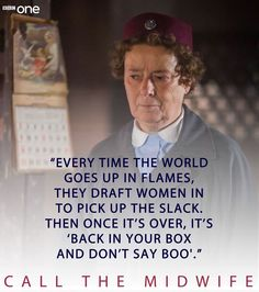 Call the midwife Tv Show Quotes, Book Quotes, Bbc Drama, Call The Midwife, Bbc One, Inspirational Quotes For Women, Period Dramas, Best Tv, Woman Quotes