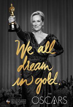 #Oscars2016 - #WeAllDreamInGold