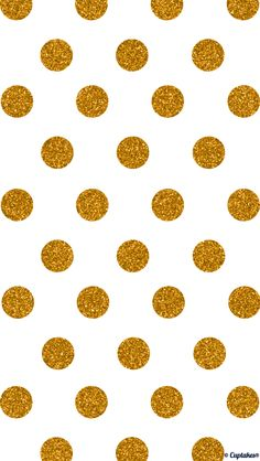 Gold glitter jumbo polka dots iphone wallpaper phone background lockscreen