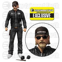 "Lindsey's Toy Room - Sons of Anarchy Jax Teller 6"" Variant Figure with Sunglasses and Hat, Available Soon! (http://www.lindseystoyroom.com/sons-of-anarchy-jax-teller-6-variant-figure-with-sunglasses-and-hat/)"