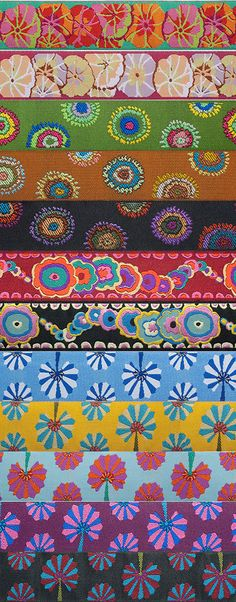 Image of NEW. Kaffe Fassett Ribbons - over 50 styles!