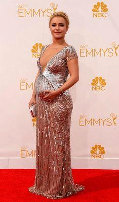 Hayden Pannetiere at the 2014 Primetime Emmy Awards