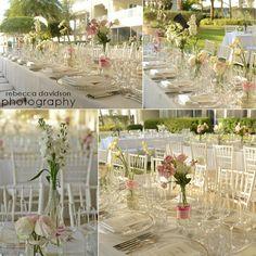 Simple pink & white spring beachfront wedding decor be Celebrations Ltd, Caribbean Club Grand Cayman wedding