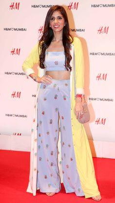 Nishka Lulla at H&M's store launch bash in Mumbai. #Bollywood #Fashion #Style #Beauty #Hot #Sexy #Page3 Mandana Karimi, H&m Store, Ranbir Kapoor, Bollywood Fashion, Mumbai, Fashion Brands, Celebs, Brand New, Hot