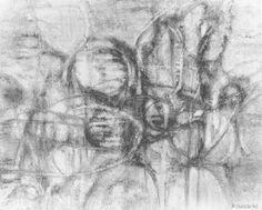 """Ermanno Besozzi pittore 1962 Presenza della natura olio su tela cm 80x100 arc 801 Bibliografia: Baj, Kaisserlian, Mastrolonardo, Radice, Fagnoni, Fontana, monografia """"Besozzi 1977 pag. 11 rip. E. Mastrolonardo, D'ARS Agency n°5, Milano, nov./dic. 1962 pag. 28 ripr. Esposizioni: Bergamo, Dragoni Ambienti d'Oggi, dic./gen. 1962/63"""