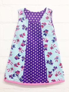 Kleid nähen - Selbermacher-Kleidchen Schnittmuster