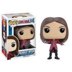 Funko Civil War POP Scarlet Witch Bobble Head Vinyl Figure - Radar Toys