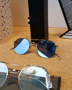 Thom Browne new collection #clerigosin #opticalconceptstore #baixaporto #passeiodosclerigos #porto #shopping #onlineshop #compras #thombrowne #newyork #sunglasses #oculosdesol #luxury #alternative #eyewear #fashion