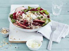 DIY-Anleitung: Buchweizensalat mit Roter Beete zubereiten / buckwheat salad with beetroot via DaWanda.com