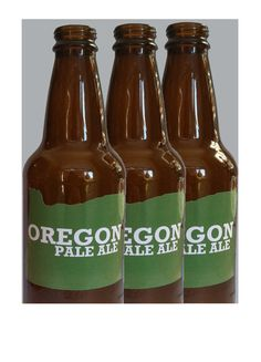 One Dozen Oregon Beer Bottle Labels  Choose by Coast2CoastDesign, $15.00