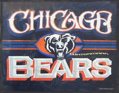 # Chicago Bears Prints by ZekesAntiqueSigns@ Etsy....at un-Bear-able low prices !