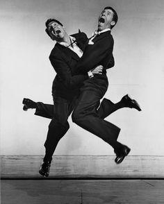Dean Martin & Jerry Lewis / Philippe Halsman