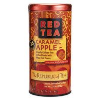Caramel Apple Red Tea Bags -- Sweet African rooibos is the ideal base for smooth caramel and crisp apple flavors. This pleasing caffeine-free blend is wonderful as a dessert tea.