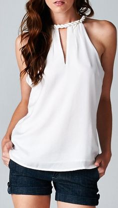 Charlie Top in White