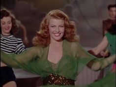 """Let's Stay Young Forever"" with Rita Hayworth's Dance Part and singing ""Stay Young Forever"""