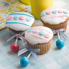 Baby Rattle Cupcakes Recipe