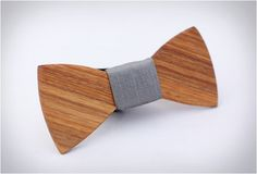 WOODEN #BOW #TIES except that I'd rather have a hair bow like it