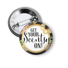 Scentsy pinback button #scentsy #wickless #scentsybar #directsales #marketing #mlm https://www.zibbet.com/nannygoatscloset