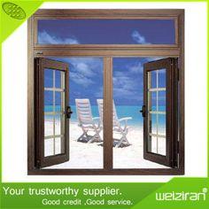 Heat Resistance Interior Double Glazing Aluminium Casement Swing Window on Made-in-China.com