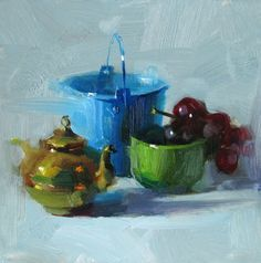 Cool Feeling, painting by artist Qiang Huang