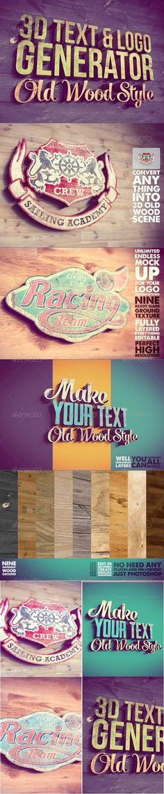3D Text Logo Generator 2 » Free Hero Graphic Design: Vectors AEP Projects PSD Sources Web Templates – HeroGFX.com