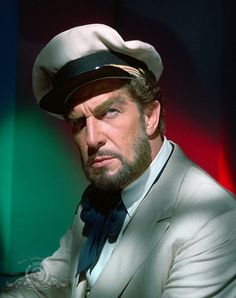 Vincent Price as Captain Robur, in _Master of the World_(1961)