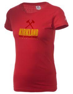 heehee...Kirkland Fire Department  Russell Women's Campus T-Shirt.