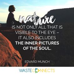 Join ‪#‎WasteConnects‬ for great ideas on how you can 'Join the  Revolution and become the Solution' https://www.facebook.com/wasteconnects/  #Nature #BeGreen #Dailyquote