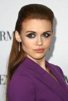 Holland Roden' smoky eye - 2013 Teen Vogue Young Hollywood Party