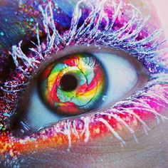 #eye art makeup