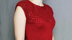 How to knit women's short sleeve sweater - video tutorial with detailed instructions